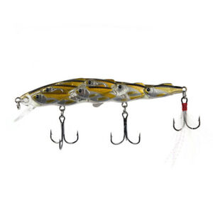 Shoal-Type-Minnow-Hard-Baits-11-5cm-15-7g-Fishing-Lure-Wobbler-Feather-Hook-2-I