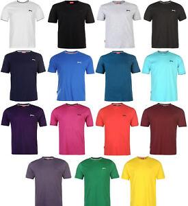 ✅ SLAZENGER Herren T-Shirt Rundhals Ausschnitt Arbeitsshirt Sommershirt Gr.S-4XL