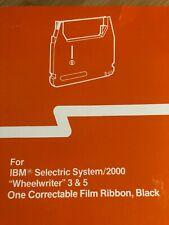 New Ibm Selectric System 2000 Wheelwriter 3 Amp 5 Correctable Film Ribbon Black