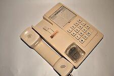 Vintage UK Beige Telephone Button Phone BRITANICA Soviet Era USSR Working!