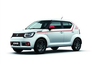Image Is Loading Stickers Red Sides NEW Suzuki Ignis 2017