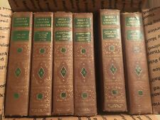 Lot 6 World's Greatest Literature 1936 Hardcover - Spencer Press