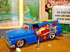 1964 64 GMC LIMITED EDITION PANEL VAN 1/64 SUPERMAN GRAPHICS HW MARVEL COMICS