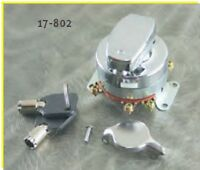 Harley Ignition Switch Dash Mount & 2 Round Keys Harley '73-'95 Electronic Type