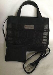 NWOT-ENZO-ANGIOLINI-Fabric-Tote-Shoulder-Bag-Handbag