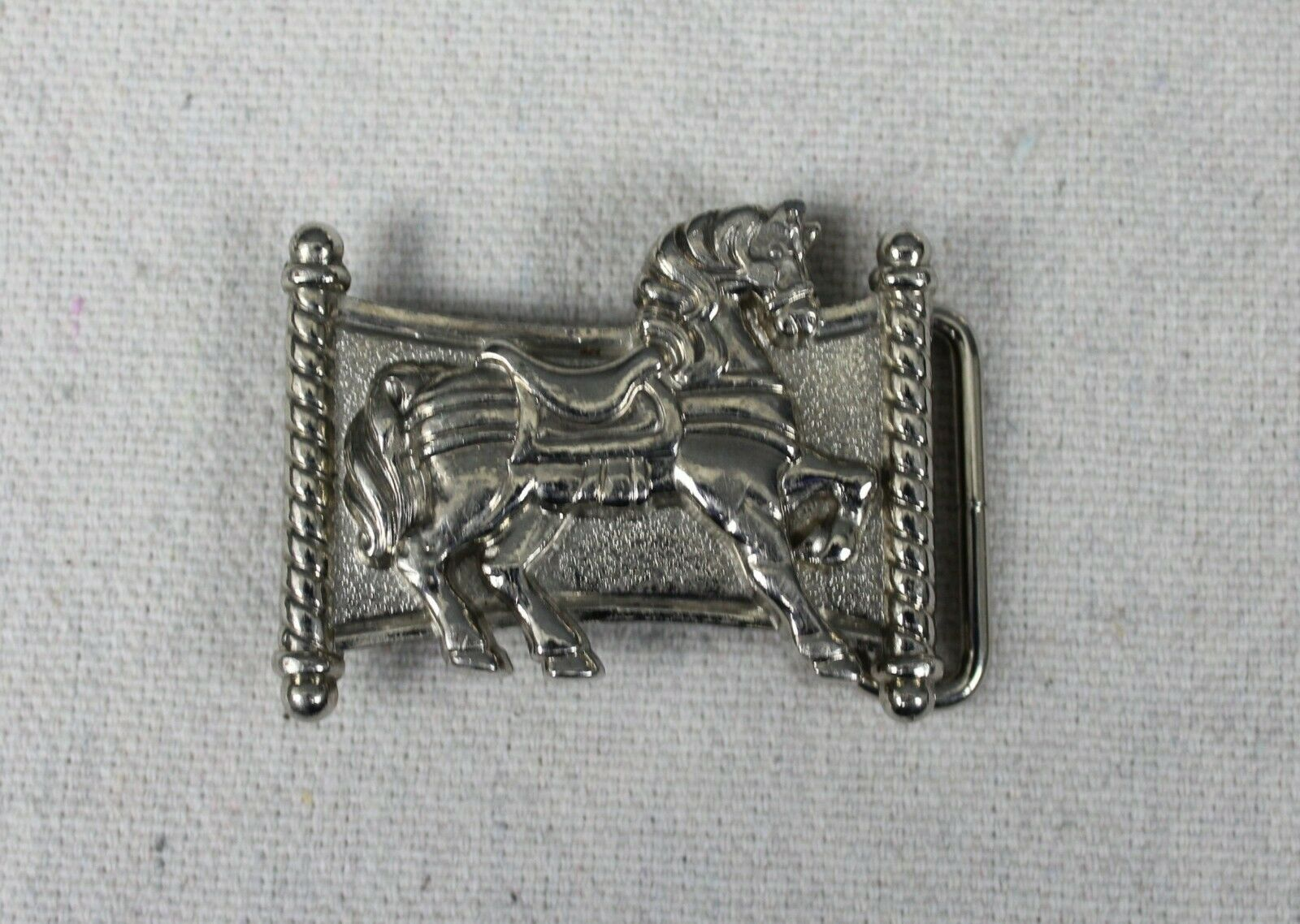 Vintage Country Western Themed Horse Cowboy Cowgirl Avon Belt Buckle