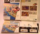 "Sim City 2000 - The Ultimate City Simulator - IBM/PC 3.5"" DISK'S Game"