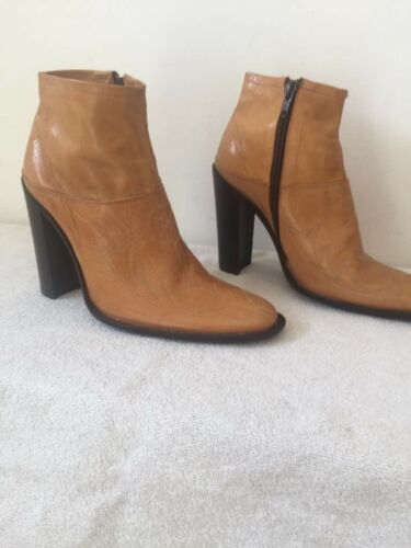 4 By Tan Heeled Brown Eur Uk Ankle Size Lee Boots 37 Viven Ladies zXZqw