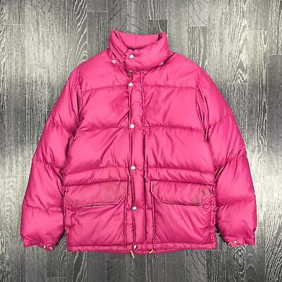 The North Face Womens Brown Label 70s/80s Puffer Jacket | Sierra | Small S Pink Das Ganze System StäRken Und StäRken