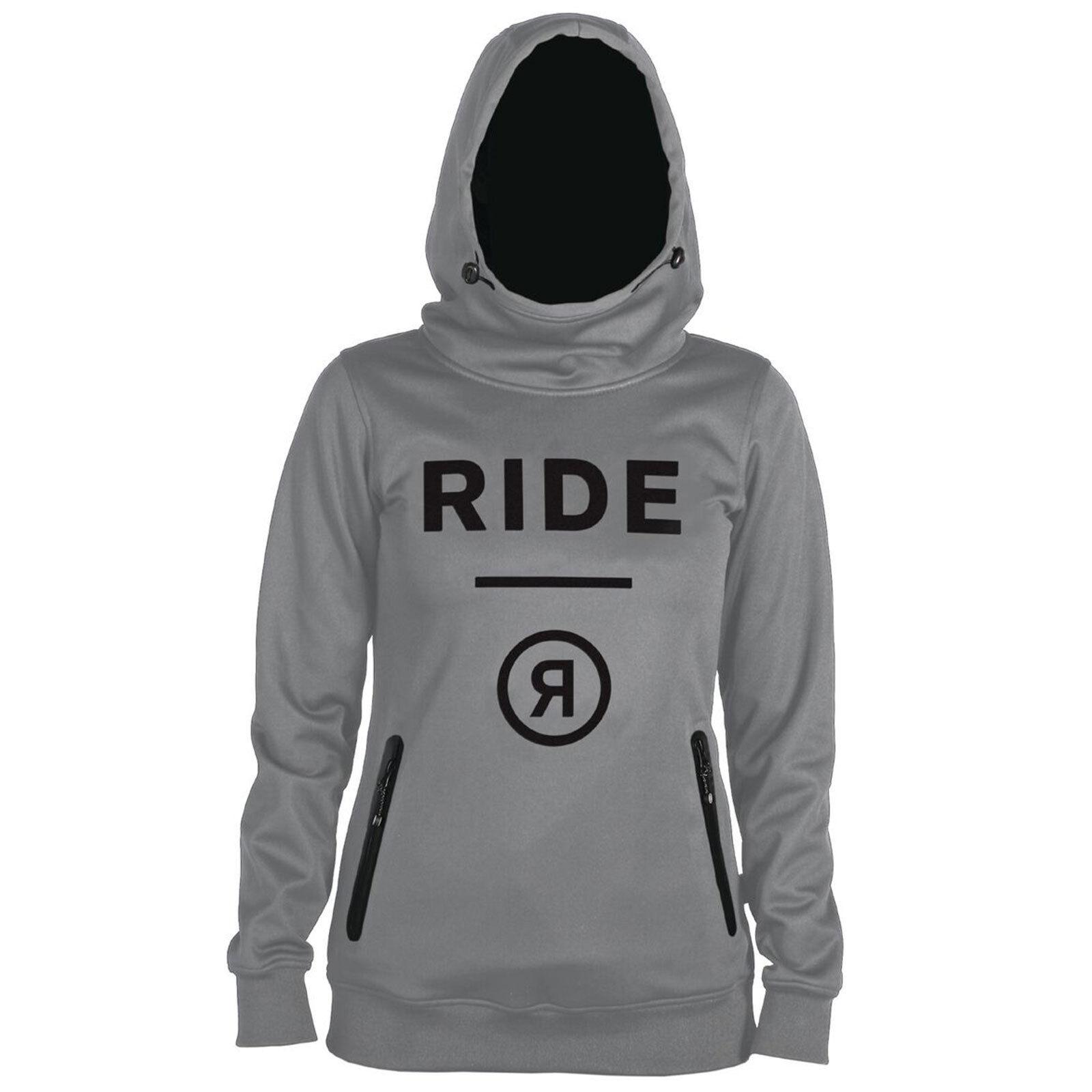 Ride Pinnacle women Felpa Mid-Layer Maglione da Sci Camicia Funzionale Cappuccio