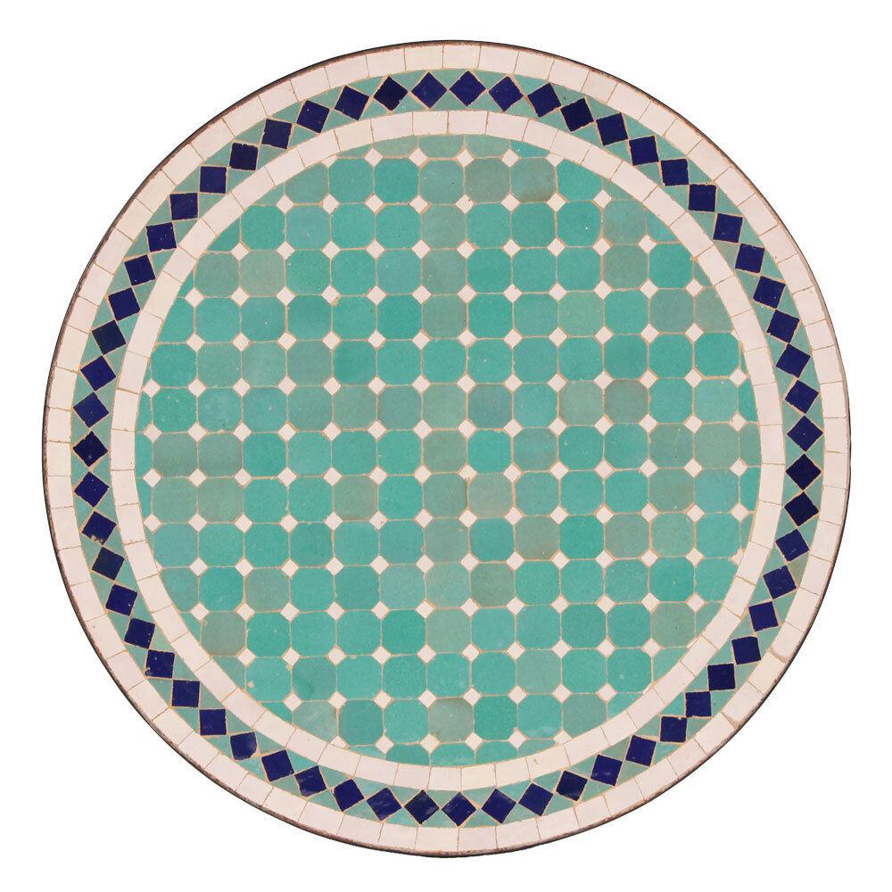 Marokkanischer Mosaiktisch Mosaiktisch Mosaiktisch orientalischer Tisch Bistrotisch Gartentisch 60cm Fer 89abbf