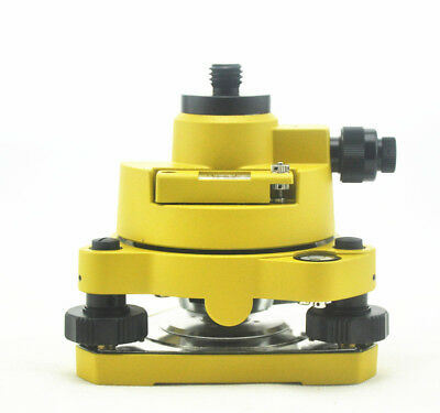 """TRIBRACH WITH OPTICAL PLUMMET/&ROTATING ADAPTER 5//8/""""X11 MOUNT FOR GPS PRISM"""