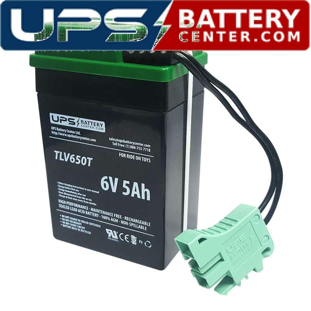 Peg Perego 6V IAKB0508 Compatible Replacement Battery. Free Shipping