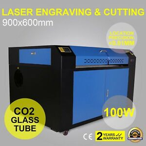 100W 900X600MM CO2 LASER ENGRAVING MACHINE  & ROTARY AXIS & water cool fantastic