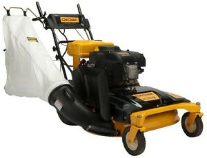 Cub Cadet 33 In Wide Cut Bagger For Wide Area Walk Behind