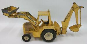 Vintage-Ertl-1-16-International-Tractor-Loader-Backhoe-472-Die-Cast-Toy
