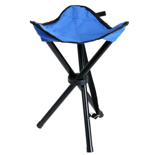 Outdoor Portable Picnic Hiking Camping Fishing Folding Chair Triangle   Seat