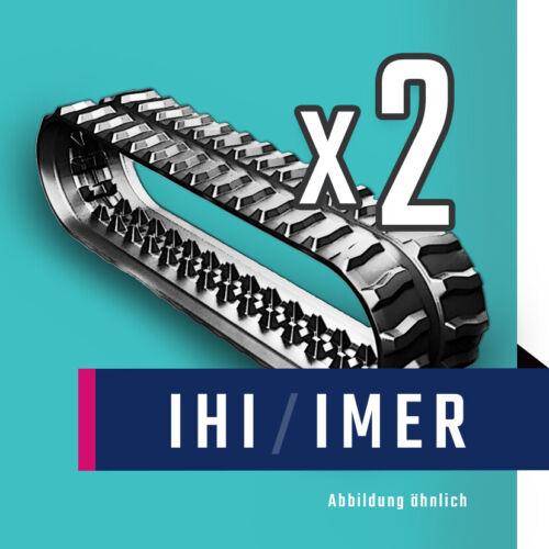 Gummiketten für IHI und IMER MinibaggerSonderpreis ab 2 StückAlle Modelle