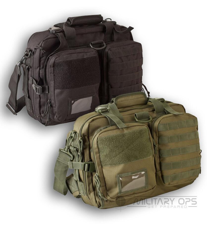 MILITARE Esercito NAV BAG LAP TOP GAMMA Bag Nero verde Oliva computer di navigazione