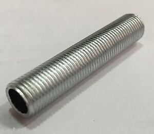 0228 NIPLES TIGE TUBO FILETTATO M10X1 ACCESSORIO PORTALAMPADE 40mm ( 5 PEZZI )