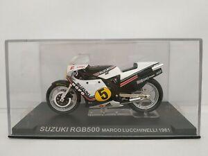 1-24-SUZUKI-RGB500-MARCO-LUCCHINELLI-1981-GP-500-MOTO-A-ESCALA-SCALE-DIECAST