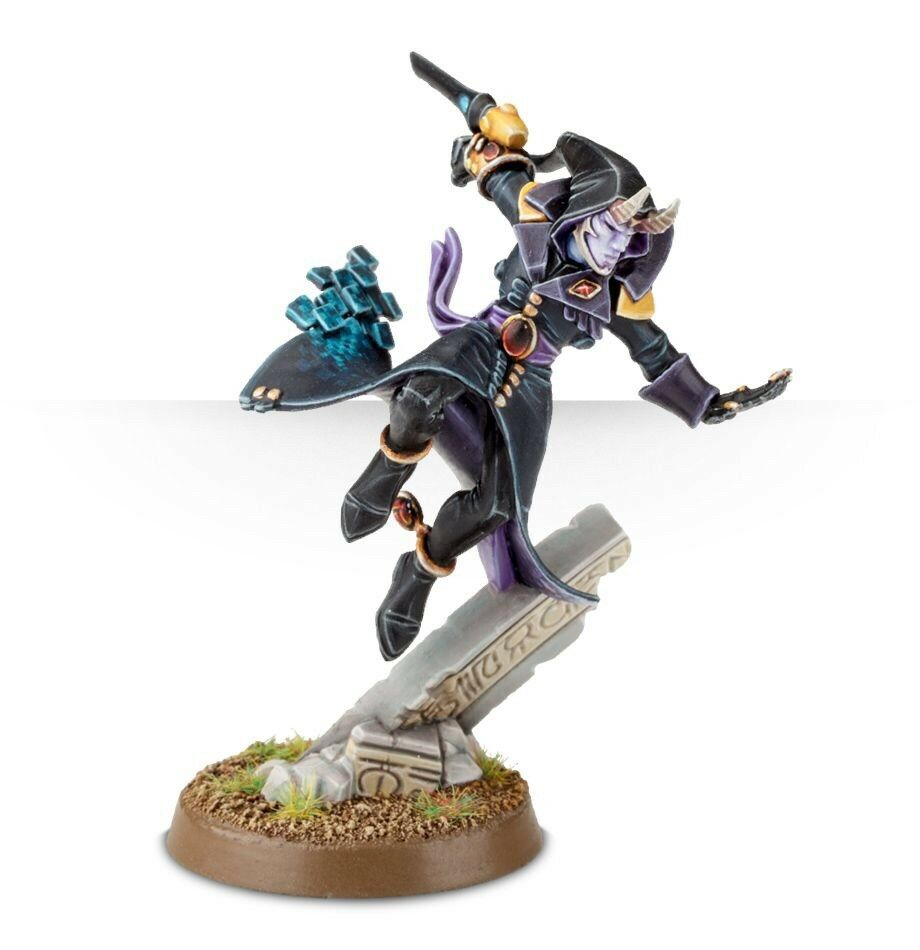Warhammer 40k Harlequins Solitaire Painted To High Quality