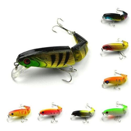 Swimbait Fishing Lures Artificial Crank Bait for Yellow Perch Walleye Bass Pike