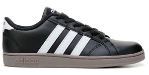 aea33192cdd4 ADIDAS Baseline K GS Black White Gum Big Kids Youth Sneakers B43874 ...