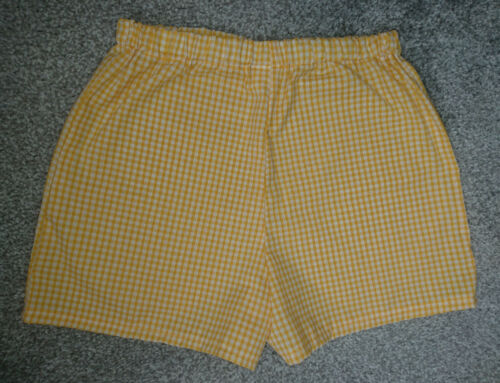 2 pairs of Gingham Modesty Under Shorts to match Uniform Same Colour /& size