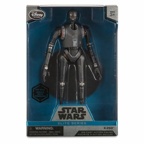 Disney Store Star Wars Rouge One K-2SO Elite Series Die Cast Action Figure NIB