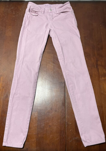 Womens Guess Britney Skinny Jeans Pink Size 27  - image 1