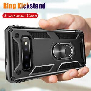 Military-Armor-Case-for-Samsung-Galaxy-S8-S9-S10-Plus-Magnetic-Ring-Holder-Cover