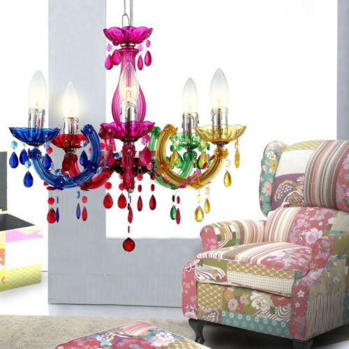 Decken Leuchte Wohnzimmer Lster Lampe Esszimmer Kronleuchter Beleuchtung Bunt