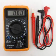 DIGITAL MULTITESTER & LEADS. AC & DC 0 - 500V, OHMS, DC mA, DIODE. MULTIMETER