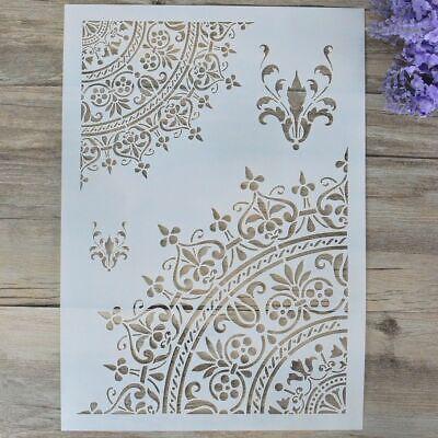 A4 DIY Craft Mandala Stencils 30*30cm Painting on Wood,Fabric,Walls Art Scrapbooking Stamping Album