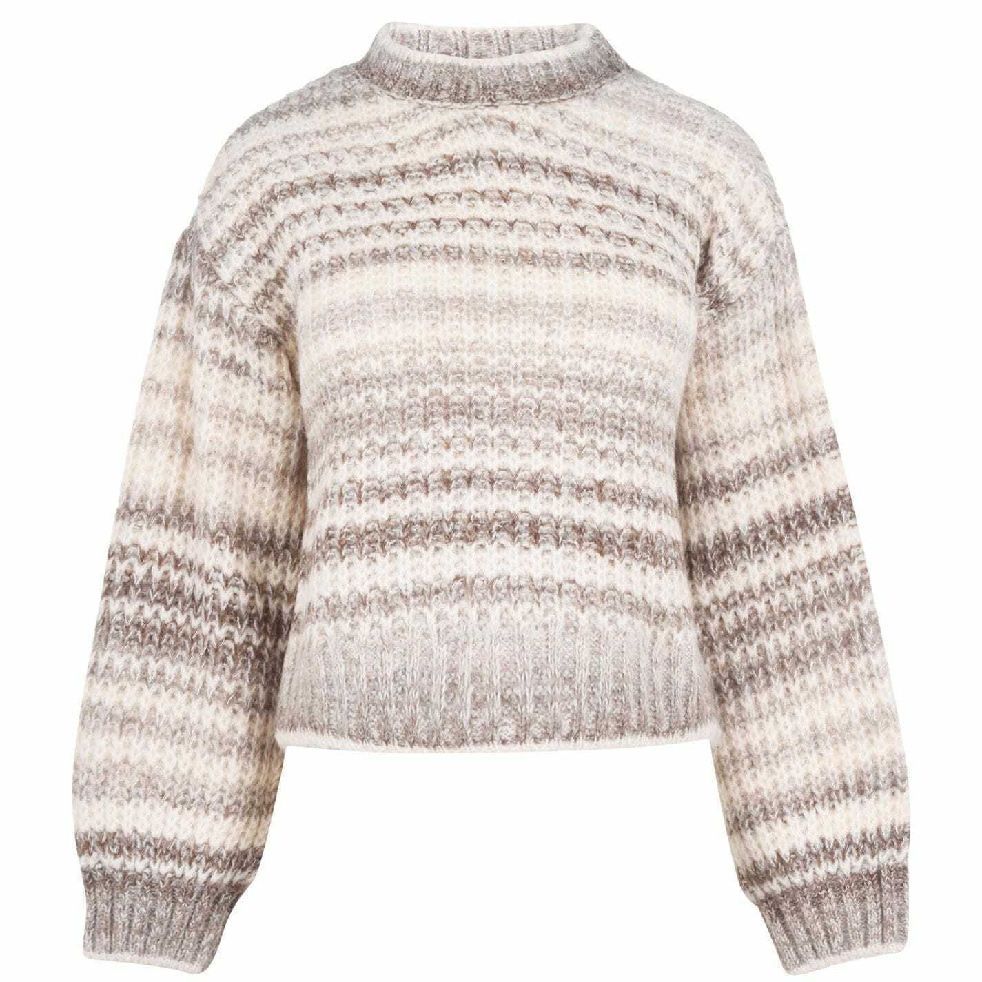 Vero Moda Womens Knitted Jumper Sweater Pullover Crew Neck Loose Fit Pattern