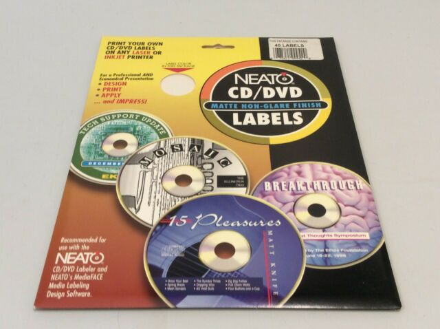 35 Fellowes Neato Cd Label Software Labels Database 2020