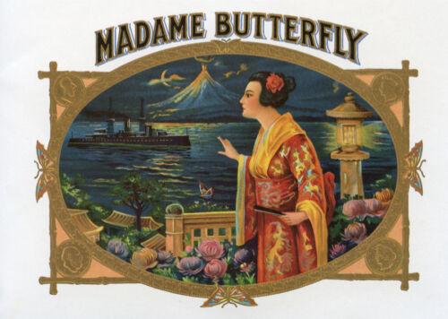 Fine Graphic Art Design 2007 Decor Madame butterfly Poster Home Shop Wall Art