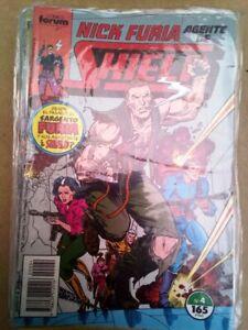 Comic Nick Furia agente de Shield Nº 4