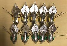 10   BREAKAWAY SEA FISHING LEAD WEIGHTS 10 x  4oz with heavy duty wires