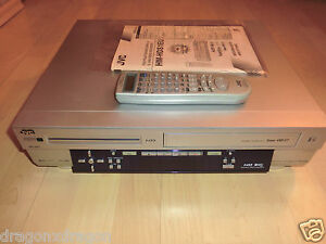 JVC HM-HDS1 HDD-Recorder & S-VHS ET Recorder, 40GB HDD, teildefekt, BDA&FB