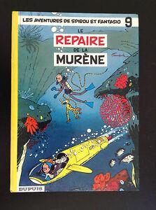 RARE-Album-Spirou-Le-repaire-de-la-murene-Franquin-1962