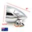 5-3-4-034-H4-Billet-Headlight-Chrome-HARLEY-Chopper-Bobber-Springer-Softail-Dyna-XL thumbnail 2