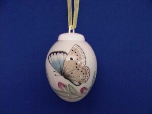 Tagfauenauge Mini Egg China Hanging Ornament from Hutschenreuther