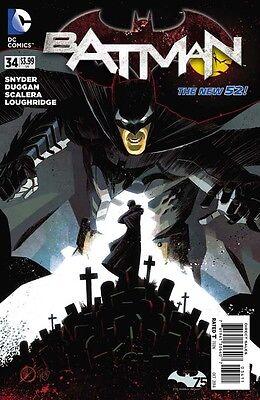 BATMAN #34 DC NEW 52