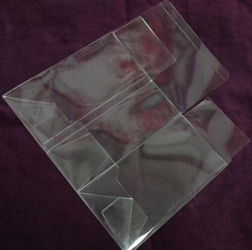 """50 PCS 4-1//2x4-1//2x6-1//2/"""" Clear Tuck Top Automatic Lock Bottom Plastic PVC Box"""