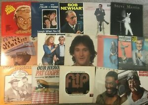 Lot-of-Comedy-6-Records-lp-Vinyl-Mix-Original-Stand-Up-TV-Movie-Big-Names-NM