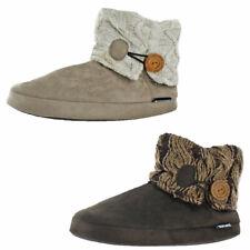 Mukluk Patti Women's Knit Short Sweater Booties Slippers