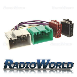 Volvo-S40-S60-S70-S80-ISO-Wiring-Harness-Connector-Adaptor-Lead-Loom-PC2-71-4