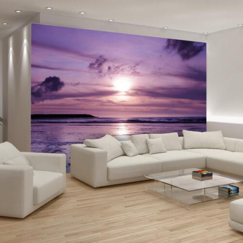 Nappes papier peint papiers peints photos perspectives eau sable coucher de soleil mer 14n122vem